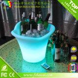 Cubo de hielo recargable del LED para el club nocturno de la barra