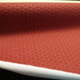 Elasitc que suporta o couro sintético para a luva (HTS035)