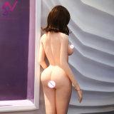 2017 CADERAS grandes avanzaron la muñeca hermosa sistema de pesos americano japonés de la muchacha del silicón del mini del amor sexo desnudo realista desnudo atractivo de la sirena 3D