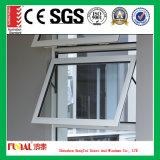 Fenêtre en tôle d'aluminium blanc revêtue de style nouveau style