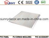 内部の大理石デザインPVCパネル、内部の大理石のDesgn PVC天井の工場