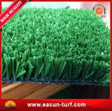 試供品の緑のフットボールの人工的な草の泥炭