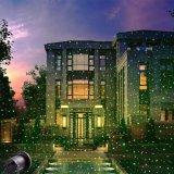 Al aire libre decoración del jardín láser a prueba de agua de luz láser luces de la Navidad de la ducha