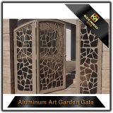 Preços de alumínio da porta do corte do laser da casa de campo