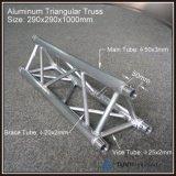 290mmアルミニウム栓の三角形のトラスコンサートの段階の照明トラス