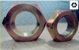 Noix DIN439 mince Hex avec l'acier inoxydable