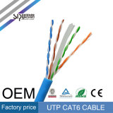 Sipu Best Price 23AWG 1000FT Bare Copper UTP CAT6 Cable