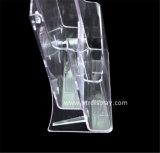 واضحة بلاستيك [أ4] 2 إطار العجلة كراس حامل صاحب مصنع [بتر-ه6302-3]