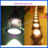 Luz LED PAR 100W COB caliente / fría Parcan