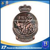 カスタマイズされた3D旧式な銅の記念品の硬貨(Ele-C137)