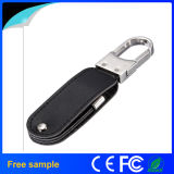 Свободно ручка памяти кожи USB2.0 печати логоса гравировки с Keychain