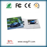 7.0 '' карточки LCD видео-/видео- брошюра для подарка венчания