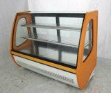 광고 방송 세륨, 콜럼븀, Saso를 가진 진열장 2개의 층 전시 케이크 냉장고