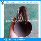 穴が付いているレーザーの切断の鋼鉄磨く管