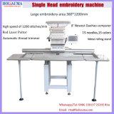Holiauma a informatisé la machine principale simple de broderie avec la broderie plate de T-shirt de chapeau 3 fonctions principales