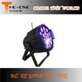 Promoção Alumínio 18X17W LED Pan Can / PAR Light