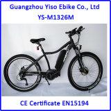 Abajo bicicleta eléctrica de la montaña media del motor impulsor de la batería de litio del tubo 250W