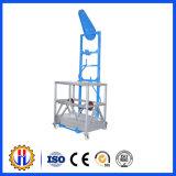 Plataforma suspendida construção/plataforma de funcionamento