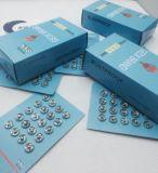 Кнопка 8mm давления плакировкой цинка