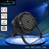 54*3W RGB RGBW 3in1 4in 1 LED 동위 빛 직업적인 단계 점화