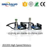 Scanner Jd2203 di Galvo dell'indicatore del laser della fibra per la targhetta dei metalli