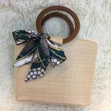Borsa popolare della paglia di estate per il sacchetto d'avanguardia caldo di Shoudler della spiaggia delle donne dei prodotti delle signore con la maniglia Sh137 del cerchio