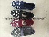 I nuovi pattini dell'iniezione della tela di canapa dei bambini di disegno, pattini di tela di canapa casuali delle calzature comerciano (FFZL1031-01)