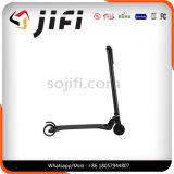 """O """"trotinette"""" o mais leve da fibra do carbono de Jifi, """"trotinette"""" Foldable do retrocesso de duas rodas"""