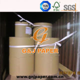 Rodillo de papel sin recubrimiento blanco del alto brillo para la impresión del libro