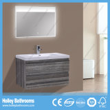 Cabinet de bain fini mélamine populaire avec deux tiroirs (BF325D)