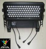 Las luces LED 96X3w Ciudad de color al aire libre colada de la pared
