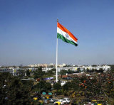 Kundenspezifisch imprägniern und Sunproof Staatsflagge-Indien-Staatsflagge-Modell Nr.: NF-018