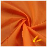 agua de 50d 310t y de la ropa de deportes tela tejida chaqueta al aire libre Viento-Resistente 100% de la pongis del poliester del telar jacquar de la tela escocesa del diamante abajo (53058F)
