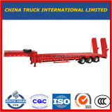 반 중국 제조자 확장 가능한 낮은 침대 Lowboy 트럭 트레일러 (50-80 톤)