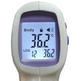 Thermomètre numérique à infrarouge infrarouge infrarouge à cristaux liquides sans contact