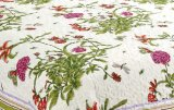 Printed Quilted Pigment Printing Microfiber Quilt / colcha / conjunto de cama