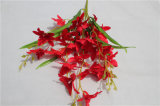 Fiore artificiale decorativo dell'orchidea di alta qualità per il commercio all'ingrosso