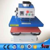 Máquina neumática de la prensa del traspaso térmico del gráfico