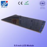 HD Normalmente preto TFT LCD para dispositivos de comutação