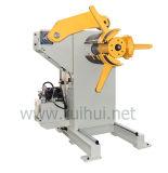 金属のUncoiler手動か空気の機械出版物ラインで使用する