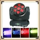 7PCS*10W 4 in 1 Verlichting van Mini LEIDENE van de Disco van de Partij van DJ Lichte LEIDENE van de Was Bewegende Lightingwedding van het Stadium