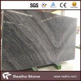 Mármore de mármore preto polido / Quênia Mármore preto / Laje de mármore antigo com veia bonita