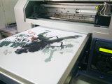Flatbed Digitale Machine van de Druk van de T-shirt met TextielInkt
