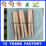 Hoja de cobre del micrón/fabricante de cobre del profesional de la cinta de la hoja