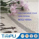 tela impermeable durable del protector del colchón del telar jacquar polivinílico de lujo del Knit 280GSM