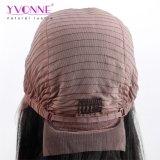 Il colore naturale di breve del merletto di Yvonne della parte anteriore dei capelli umani del Bob delle parrucche del Virgin densità brasiliana dei capelli 180% libera il trasporto