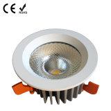 Low Price Aluminium COB encastré LED plafond Down Light