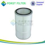Filtro del colector de polvo de la membrana PTFE del cilindro de Forst