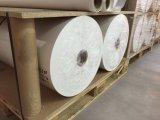 50GSM jejuam papel de transferência seco do Sublimation do rolo da largura do rolo enorme 1.6m para a tela de seda de /Polyester do cetim