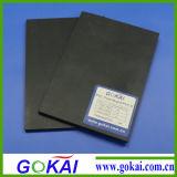 Feuille rigide noire de PVC Matt pour le Signage extérieur de Digitals
